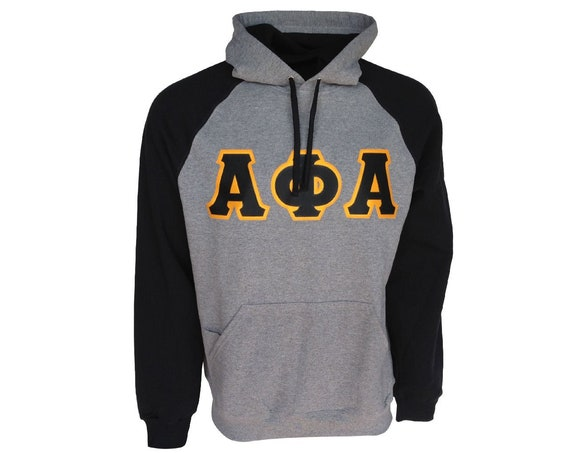 Alpha Phi Alpha Color Block Hooded Sweatshirt