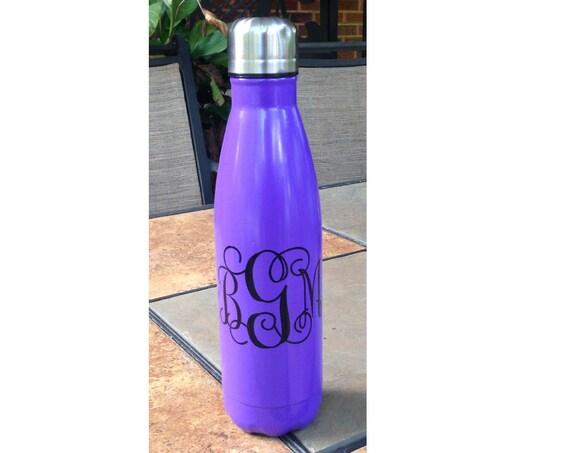 Monogrammed Personalized Water Bottle