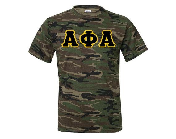 Alpha Phi Alpha Camo Tshirt