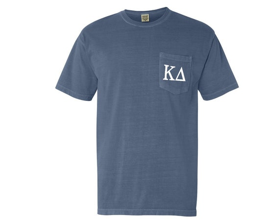Kappa Delta Comfort Color Pocket T-shirt