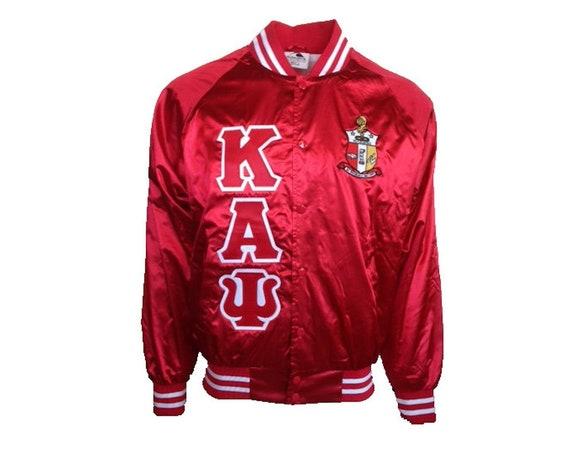 Kappa Alpha Psi Satin Jacket with Crest