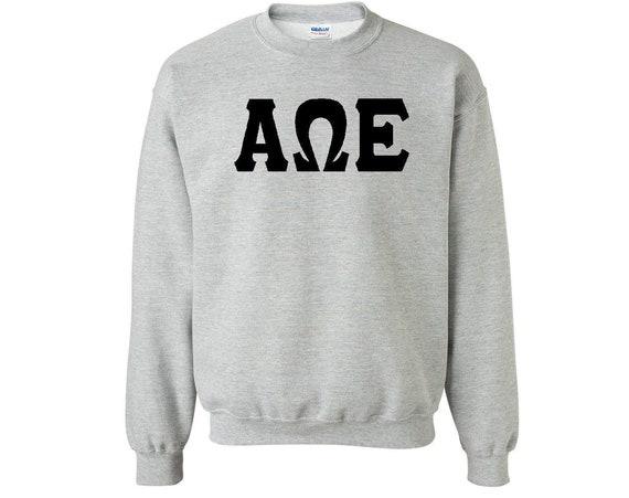 Alpha Omega Epsilon - Athletic Grey Sweatshirt