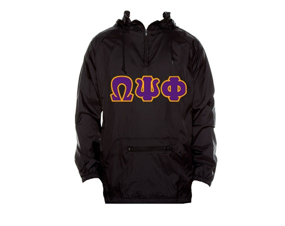 Omega Psi Phi Unlined Anorak