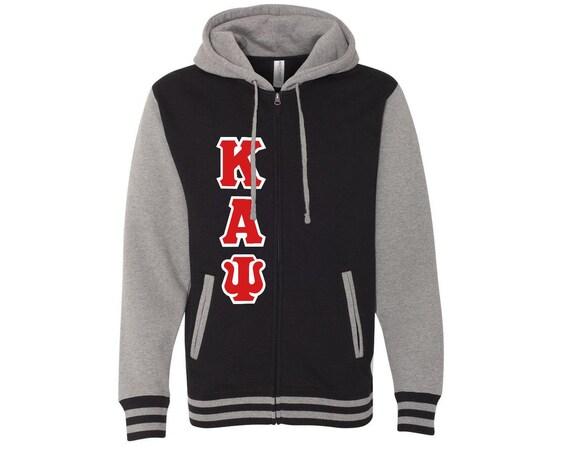 Kappa Alpha Psi Varsity Full Zip Hooded Sweatshirt