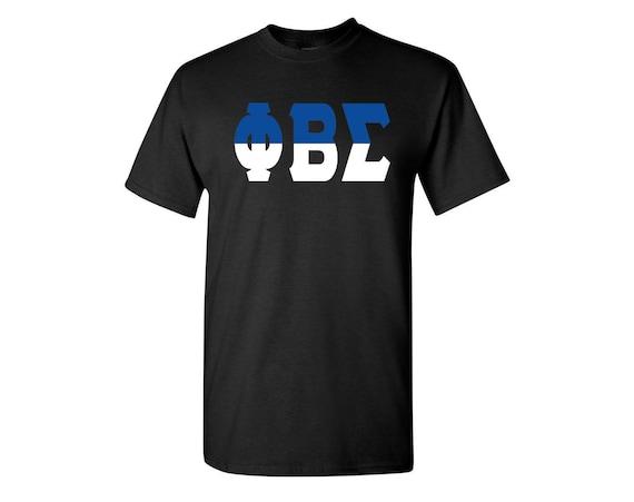 Phi Beta Sigma Split Letter T-shirt