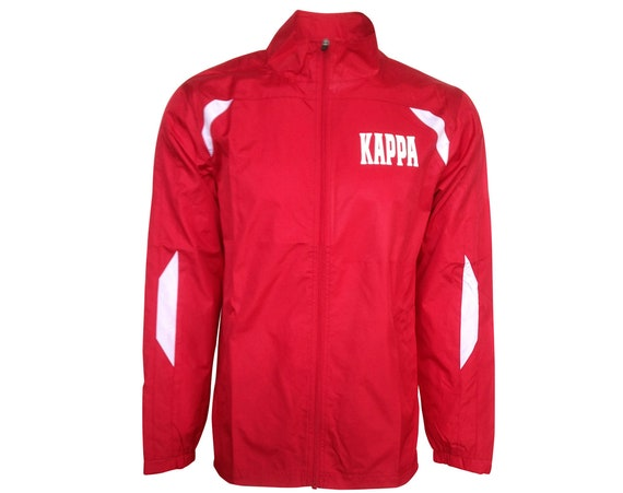 Kappa Alpha Psi Red and White Jacket
