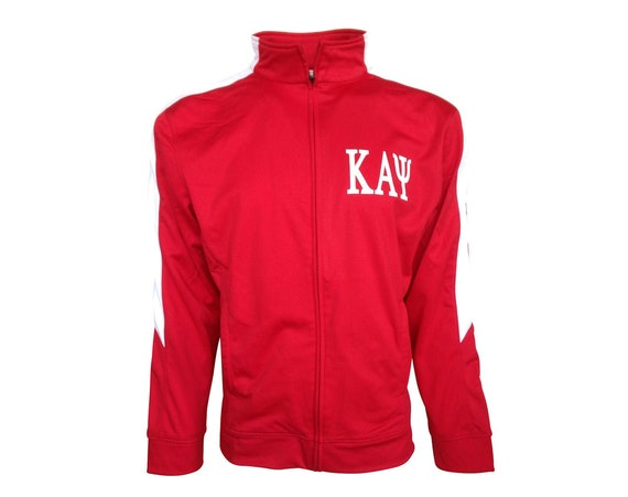 Kappa Alpha Psi Red and White Founders Jacket