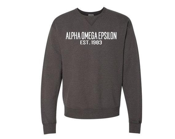 Alpha Omega Epsilon - Founders Sweatshirt