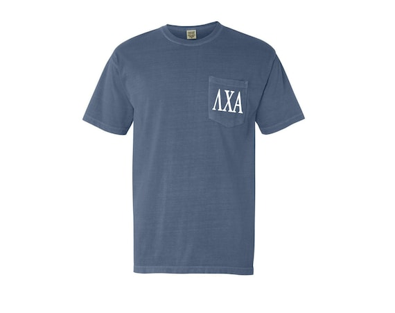 Lambda Chi Alpha Comfort Color Pocket T-shirt