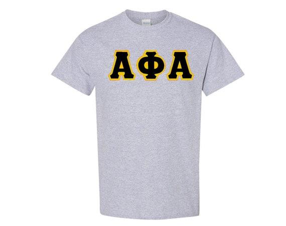Alpha Phi Alpha Letter T-shirt