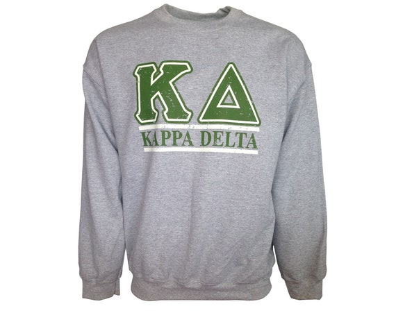 Kappa Delta Bar Design Sweatshirt