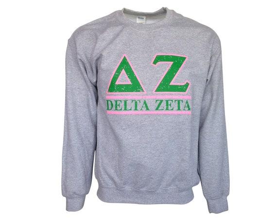 Delta Zeta Bar Design Sweatshirt