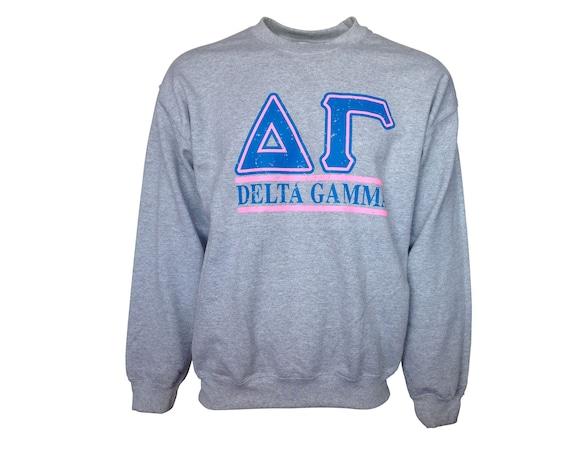 Delta Gamma Bar Design Sweatshirt