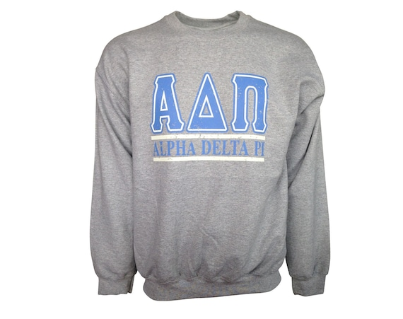 Alpha Delta Pi Bar Design Sweatshirt (Medium)