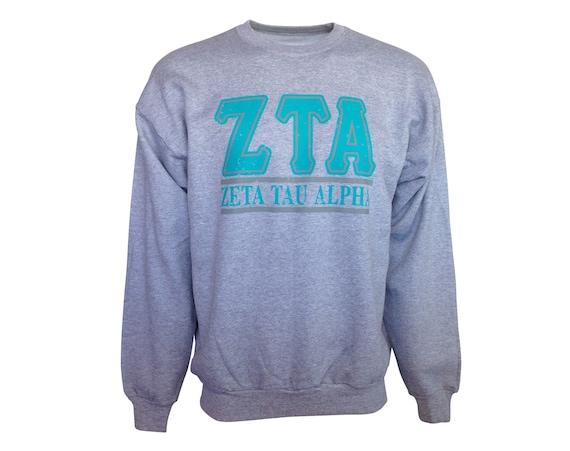 Zeta Tau Alpha Bar Design Sweatshirt