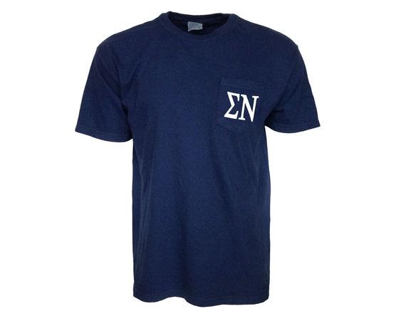 Sigma Nu Comfort Color Pocket T-shirt