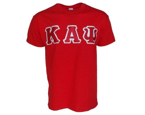 Kappa Alpha Psi Letter T-shirt