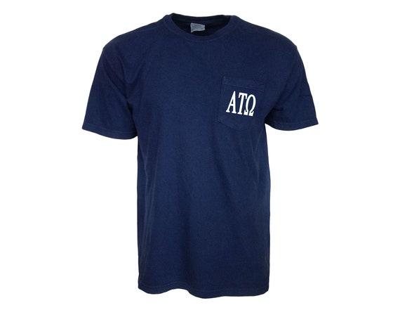 Alpha Tau Omega Comfort Color Pocket T-shirt