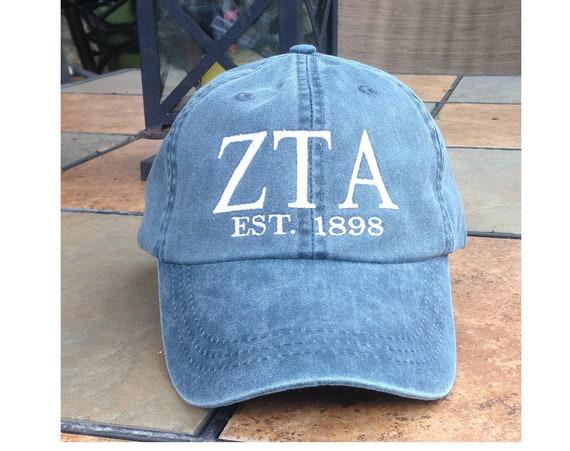 Zeta Tau Alpha Founders Cap