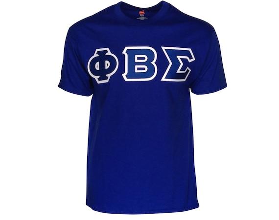 Phi Beta Sigma Letter T-shirt