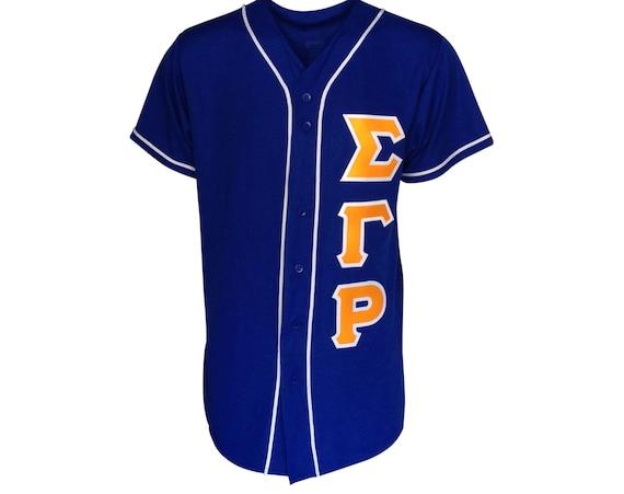 Sigma Gamma Rho Custom Baseball Jersey