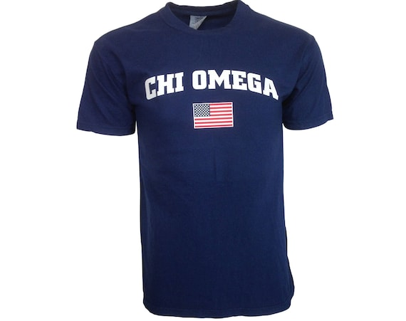 Chi Omega USA t-shirt