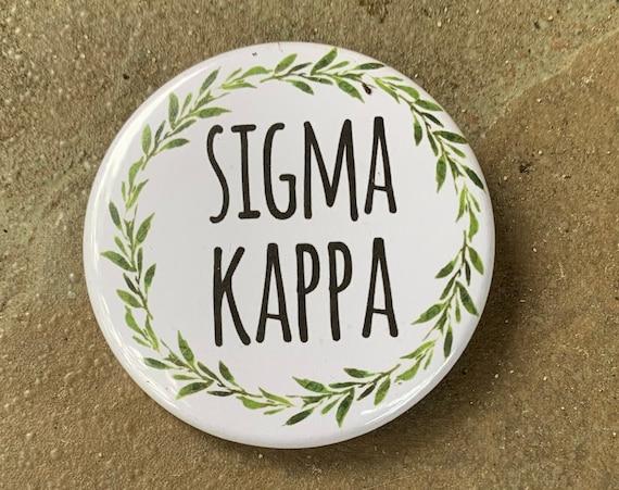 Sigma Kappa Buttons