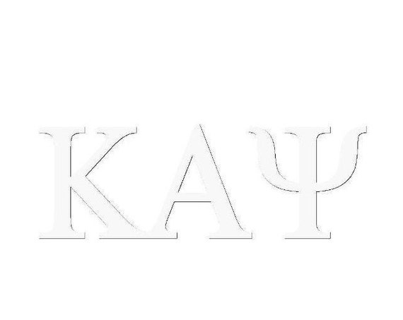 Kappa Alpha Psi Window Decal
