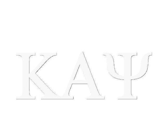 Kappa Alpha Psi Window Decal