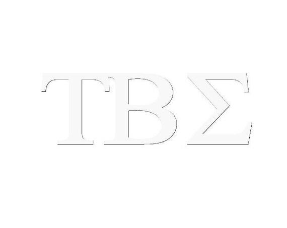 Tau Beta Sigma Window Decal