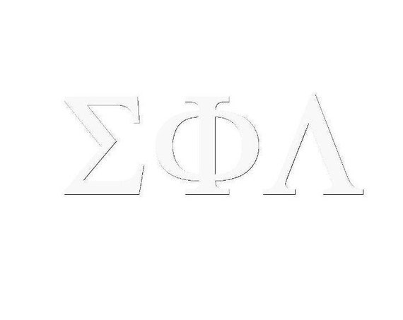 Sigma Phi Lambda Window Decal