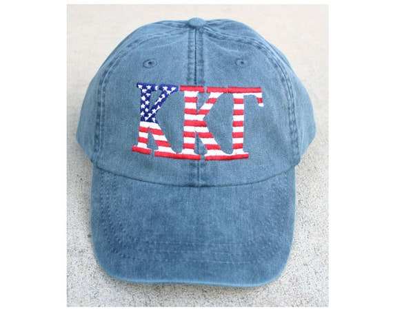 Kappa Kappa Gamma American Flag Cap