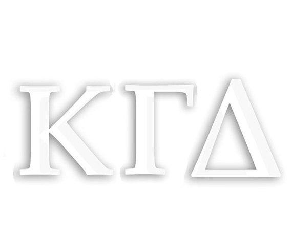 Kappa Gamma Delta Window Decal