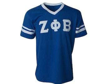 c5c80c1df28 Zeta Phi Beta - Stripe Sleeve T-shirt Jersey