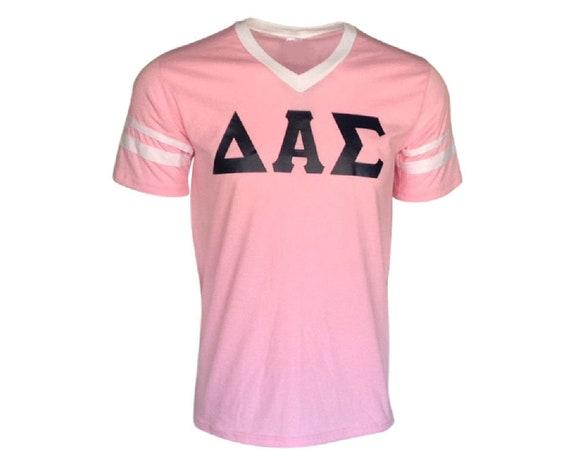 Delta Alpha Sigma - Stripe Sleeve T-shirt Jersey