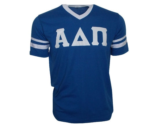 Alpha Delta Pi - Stripe Sleeve T-shirt Jersey