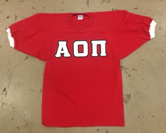 Custom Sorority-Fraternity Sewn Letter Jersey