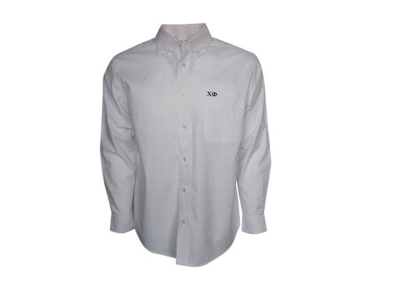 Chi Phi Button Down Dress Shirt