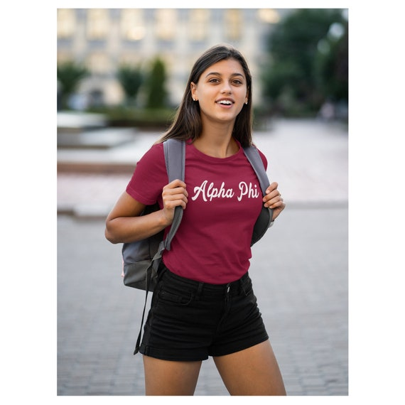Alpha Phi Funky T-shirt