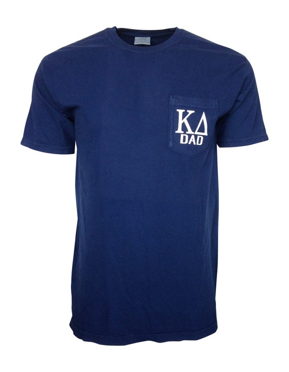 Kappa Delta Dad Comfort Color Pocket T-shirt