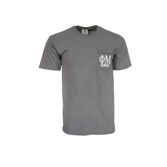 Phi Mu Dad Comfort Color Pocket T-shirt