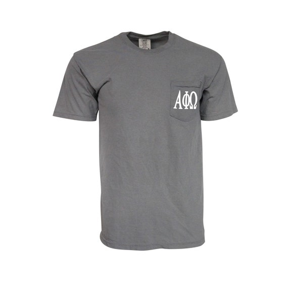 Alpha Tau Omega Comfort Color Pocket T-shirt