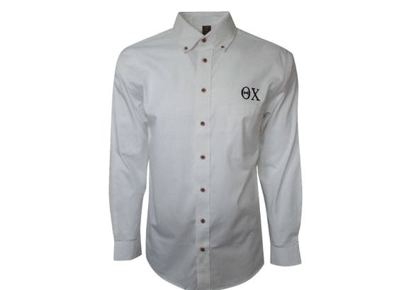 Theta Chi Button Down Dress Shirt