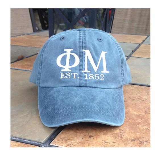 Phi Mu Founders Cap