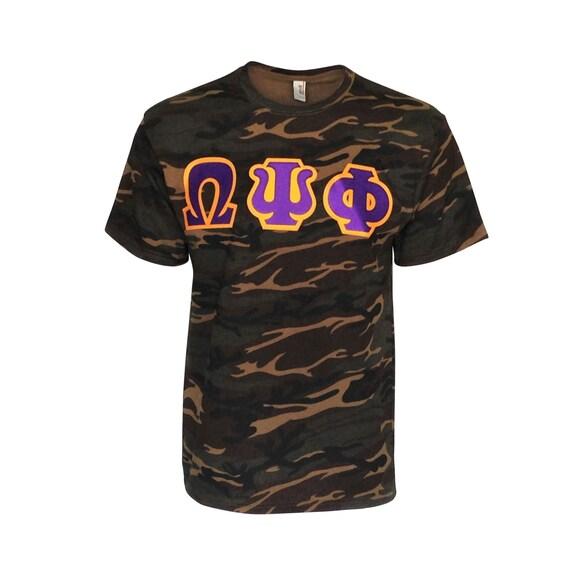 Omega Psi Phi Camo Tshirt