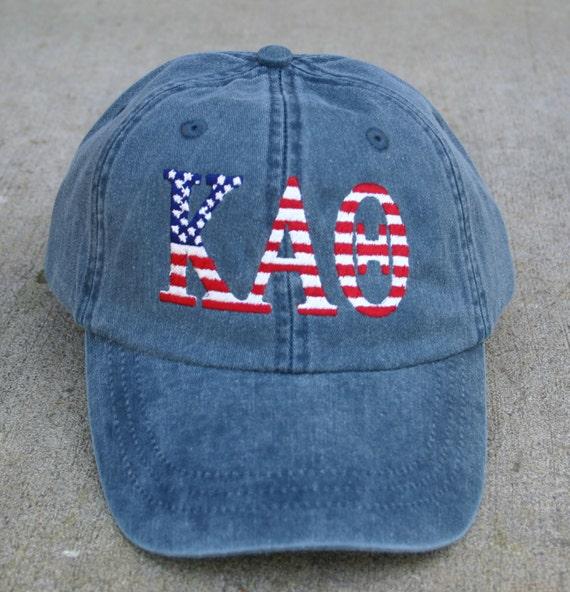 Kappa Alpha Theta American Flag Cap