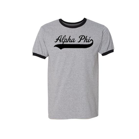 Alpha Phi Ringer T-shirt