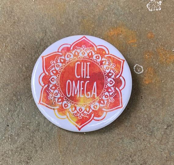 Chi Omega Button