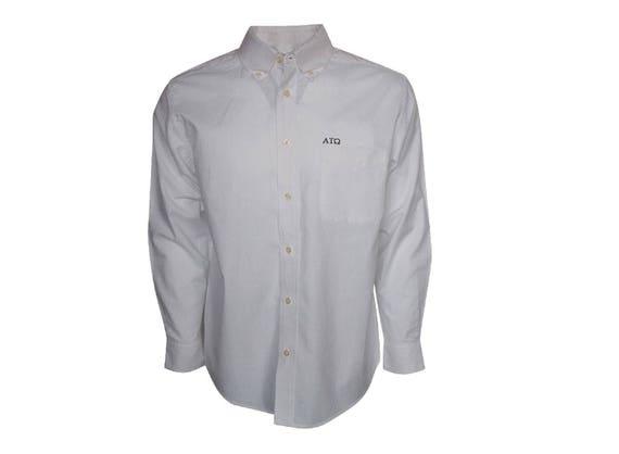 Alpha Tau Omega Button Down Dress Shirt