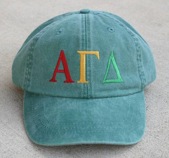 Alpha Gamma Delta baseball cap